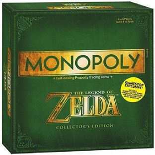 Legend of Zelda Monopoly Board Game